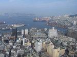 釜山タワーから見下ろす釜山港.JPG