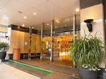 サントスホテル(三徳大飯店)エントランス入口.JPG