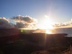 ダイヤモンドヘッド頂上から眺める日の出2.JPG