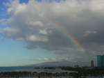 ヒルトンラグーンタワーL1568号室から眺める虹2.JPG