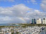 ヒルトンラグーンタワーL1568号室から眺める虹3.JPG
