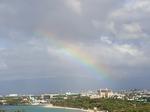 ヒルトンラグーンタワーL1568号室から眺める虹4.JPG
