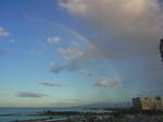 ヒルトンラグーンタワーL1568号室から眺める虹5.JPG