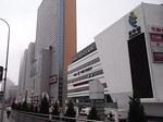 大連中山大酒店付近のショッピングモール群.JPG