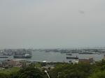 寿山公園から望む高雄港.JPG