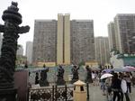香港黄大仙寺院動物神立像群1.JPG