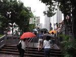 香港黄大仙寺院境内の階段.JPG