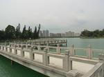 高雄澄清湖と九曲橋.JPG