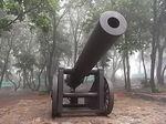 203高地ロシア式150ミリカノン砲.JPG