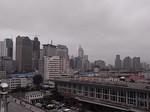 展望台から臨む大連港国際旅客駅.JPG